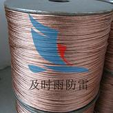 供应及时雨防雷接地材料铜包钢接地线河南防雷装置公司
