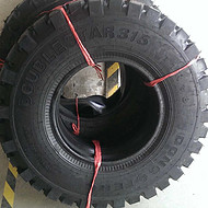东风双星牌11R18越野轮胎DS315花纹带内胎