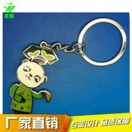 中国元素钥匙扣 珐琅釉油旗袍钥匙扣 唐装钥匙链 特色旅游纪念品