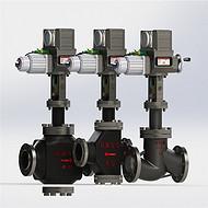 ZKZP/N单双座调节阀西安恒力仪表研究所管道流量控制