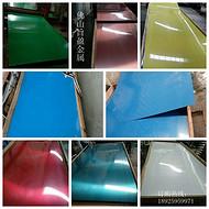 新品不锈钢烤漆装饰板 一级品质真纳米色油加工厂多种颜色供选择