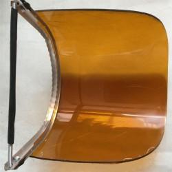 茶色有机玻璃的防护面屏