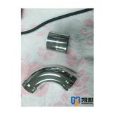 不锈钢电解抛光液在不锈钢管套的实际应用效果 带工艺视频