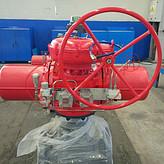 吉林石油DN125平台阀门防火罩