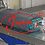 DN80排油防火罩变压器上海柔性调节阀防火罩