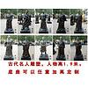 玻璃钢雕塑仿铜人物雕塑古代十大名人雕塑景区公园树脂摆件