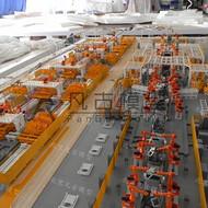 智能工业汽车自动化生产线机械模型沙盘制作厂家