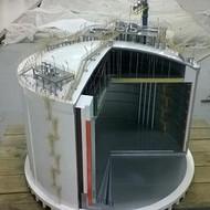 独山子炼化厂区模型专业制作炼化厂区模型厂家