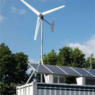 1kw漁船專用小型風力發電機風光互補發電機組低噪音