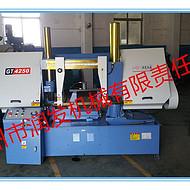 双立柱结构 GT4250液压金属带锯床 切削效率高