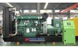 玉柴800千瓦柴油发电机组开机启检测,100%负载检测 (8播放)