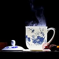 景德镇陶瓷茶杯礼品 陶瓷茶杯批发厂家