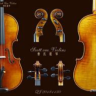 曹氏提琴 全欧料纯手工制作专业级小提琴 750E