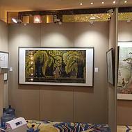 北京画展展板布展,书画展墙布置公司
