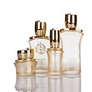 高档化妆品套装瓶,电镀化妆品瓶,喷涂化妆品瓶,化妆品瓶丝印烫金
