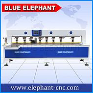 济南蓝象数控 侧孔机板式家具生产线 开料机
