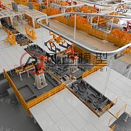苏州工业模型 工业装备模型 工业厂区模型