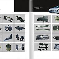 红星五金工具彩页设计-松岗宣传册制作-轴承画册印刷