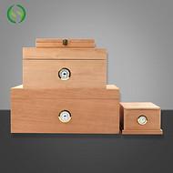 50支装雪松木雪茄盒定做厂家 丰桦 批量加工
