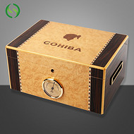 高希霸大容量雪松木雪茄盒保湿盒 定制厂家 批量加工 丰桦