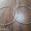 案板蚬木菜板圆形砧板防裂菜板箍钢圈箍提手配件厂家货源定制