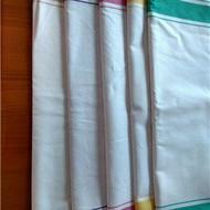 欧式全棉折花布擦杯子布酒店口布西餐厅餐巾布纯白色布咖啡厅