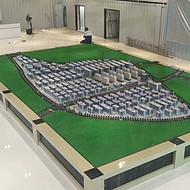 永修汽车配件城,南昌沙盘模型厂家设计
