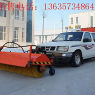 皮卡车安装扫雪设备