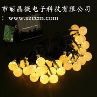 供应灯串定时芯片,LED灯串IC,多种闪烁模式-深圳市丽晶微电子