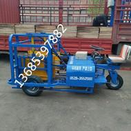 水泥砖电瓶叉车|水泥砖厂电动运砖车
