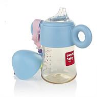 宽口径防摔带手柄带吸管ppsu防胀气新生婴儿喂奶瓶