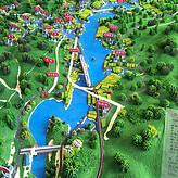 浮梁浯溪口水库,南昌沙盘模型公司设计
