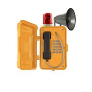 铝合金外壳防水广播  铝合金外壳扩音警示灯防水
