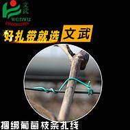 葡萄扎丝绑丝15厘米 绳线带 钢丝架丝 猕猴桃线防鸟网扎条绑水管