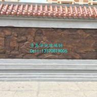 小区广场玻璃钢浮雕墙 浮雕立体宣传墙