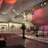 出租铝合金结构篷房 东莞市户外婚礼庆典篷房租赁