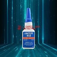 美国原装进口 乐泰412瞬干胶 低白化低粘度渗透型快干胶
