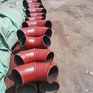 陶瓷耐磨弯头 天津总经销价格从优经久耐用 13561215168 丰经理