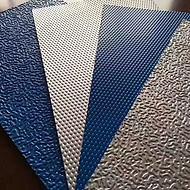 带保护膜的覆膜彩钢压花板