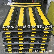 车间地面橡胶压线板_二槽橡胶压线板_保护线缆橡胶压线板