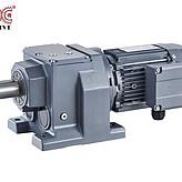 上海欧传 R系列齿轮减速箱 斜齿轮减速机 减速箱