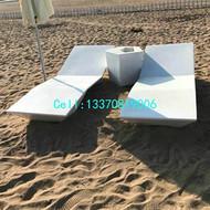 玻璃钢沙滩椅 玻璃钢户外休闲家具定制