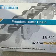 供应椿本滚子链条RS12B-1日本TSUBAKI欧洲规格B型链价格优惠