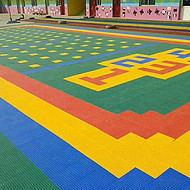 山东悬浮地板山东拼装地板山东悬浮式快速拼装地板