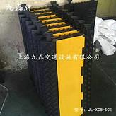车间地面橡胶电缆走线板_五槽橡胶电缆走线板_保护电缆电线橡胶电缆走线板