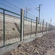 铁路防护围栏安装--边框隔离网--安平聚光