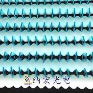 605nm蓝玻璃短波通滤光片镜头蓝玻璃滤光镜片