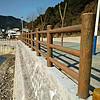 江西水泥栏杆仿松树皮3D型护栏