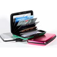 铝合金rfid屏蔽盒,防电磁射频(RFID)盗卡,多功能卡包