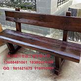 供应西藏林芝仿树皮靠背椅,水泥仿木围栏,仿树藤栏杆